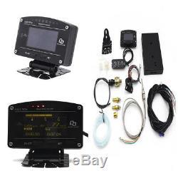 12000rpm Tacho Car Dash Race Display Sensor Kit Rally Gauge Meter Turbo Boost