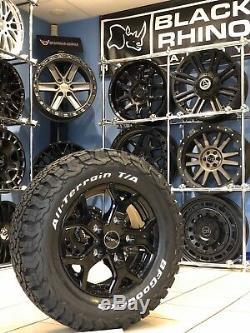 16 Alloy Wheels Ford Transit Custom Bfg All Terrain Tyres Gloss Black