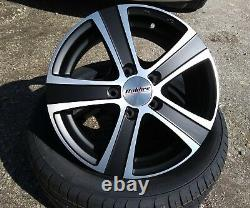 16 Alloy Wheels Ford Transit Custom Van Camper Motorhome Commercial Load Rated