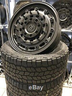 16 Black Rhino Arsenal Alloy Wheels Ford Transit Custom Rugged Alloys