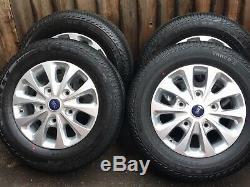 16 Ford Transit Custom Alloy Wheels Mk8 Mk7 Mk6 Limited Alloy Wheels 2001
