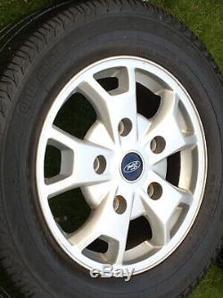 16 Ford Transit Custom Alloy Wheels Mk8 Mk7 Mk6 Limited Alloy Wheels 2001-2020