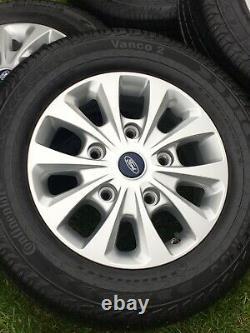 16 Ford Transit Custom Limited Alloy Wheels Lwb Swb Mwb Mk9 Mk8 Mk7 Mk6 Tyres