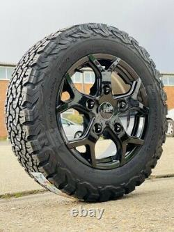16 Ford Transit Custom Mk8 Mk7 Tourneo All Terrain Alloy Wheels And Bfg Tyres
