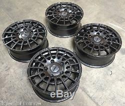 18 Alloy Wheels Calibre T Sport Ford Transit Custom Transit Gunmetal