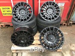 18 Alloy Wheels Ford Transit Van MK6 Mk7 Mk8 Custom Trend 2454518 Tyres RST NEW