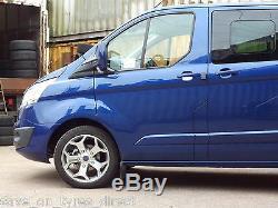 18 Alloy Wheels Ford Transit Van MK6 Mk7 Mk8 Custom Trend 2554518 XL Tyres WR