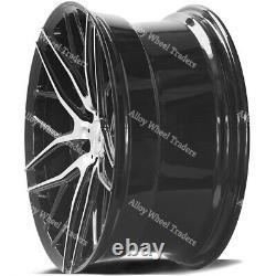18 Black ZX11 Alloy Wheels Fits Ford Transit Custom Tourneo Rated 1000kg 5X160