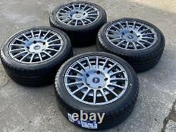 18 Ford Transit Custom MSRT Style Alloy Wheels & Tyres 5x160 Mk7