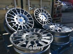 18 GUNMETAL Alloy Wheels Ford Transit Custom 5x160 ST T-SPORT