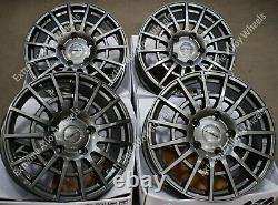 18 Gunmetal T Sport Alloy Wheels Commercially Load Rated For Ford Transit Van