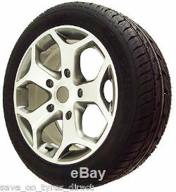 18 High Load Grey Alloy Wheels XL Tyres Ford Transit Van Mk6 MK7 Mk8 Custom