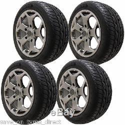 18 High Power Silver Alloy Wheels Ford Transit Custom 5x160 ST XL 2554518 Tyres