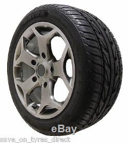 18 ST Alloy Hyper Wheels Tyres Ford Transit Custom Van Panel Tourneo Kombi