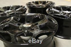 18 ST Gloss Black Load Rated Alloy Wheels & Tyres Fit Ford Transit