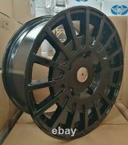 18 g/black ast-2 sport Ford Transit custom Alloy Wheels l/rated Van st & tyres