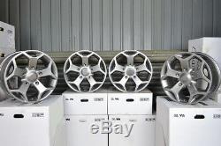 18 inch JAERO VIPER 5x160 ET50 8J GUNMETAL alloy wheels Ford TOURNEO CUSTOM For