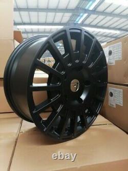 18black Matt Sport Ford Transit Alloy Wheels L Rated Van MK6/MK7/MK8-st & tyres