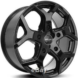 18black fox viper 4 Ford Transit Alloy Wheels Commercial Van -st with tyres