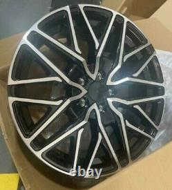 18black polish sport st Ford Transit / custom Alloy Wheels Van rated & tyres