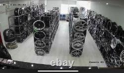 18dark Silver/grey Sport Ford Transit/custom Alloy Wheels L Rated Van -st tyres
