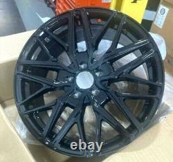 18gloss black sport st Ford Transit / custom Alloy Wheels Van rated & tyres