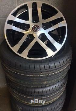 18saturn Ford Transit Alloy Wheels Commercial Van MK6 /MK7/MK8-st with tyres