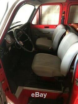 1972 Ford Transit Custom MK1 Only 5000 Miles Ex Alps Fire Dept