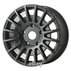 20 Jbw Tms Gunmetal Alloy Wheels+tyres To Suit Ford Transit Custom (set 4)