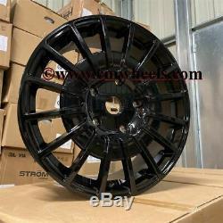 20 OZ M Sport MS-RT Style Van Alloy Wheels Gloss Black Ford Transit Custom LWB