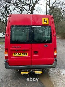 2004 Transit Minibus No Mot Project 135bhp Custom Camper Cafe Parts Export Px