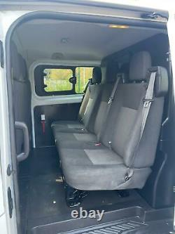 2013 63 Ford Transit Custom Crew Van 290 2.2 Tdci Eco-tech Aircon 113k No Vat