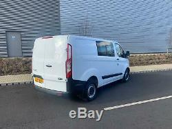 2013 63 Ford Transit Custom Crew Van 290 Eco-tech Electric Windows No Vat