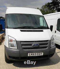 2013 Ford Transit 2.2TD 350 MWB (125PS) RWD 350M Medium Roof Van (63 Reg) EU5