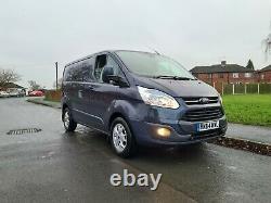 2014 64 Ford Transit Custom Van 270 Limited E-tech Turbo Diesel 125bhp No Va