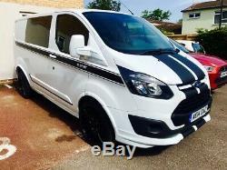 2014 Ford Transit Custom M Sport Crew Van No Vat Like T5 Vivaro Vito Trafic