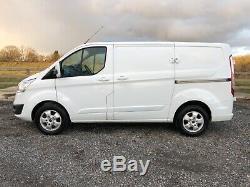 2015 15 Ford Transit Custom 2.2 Tdci Limited Swb 270 L1h1 Euro5 Van Fsh Sat Nav