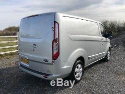 2015 65 Ford Transit Custom 2.2 Tdci Limited Swb 270 L1h1 Silver Euro5 Van Fsh