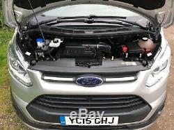 2015 Ford Transit Custom 2.2 Tdci Trend 125 Bhp 270 Swb L1 H1 Euro5 Van Silver