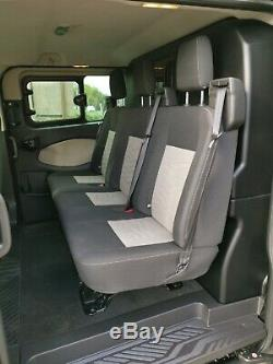 2015 Ford Transit Custom 6 Seat Crew Cab FSH LWB NO VAT