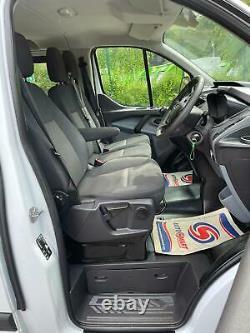 2017 67 Ford Transit Custom Crew Van 270 2.0 Tdci Euro 6 Aircon 84k No Vat
