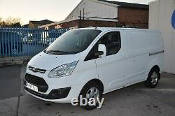 2017/67 Ford Transit Custom L1 H1 Limited 130ps In Frozen White