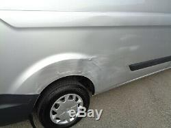 2017 67 Plate Ford Transit Custom 290 LWB TREND Van Light Damage Silver