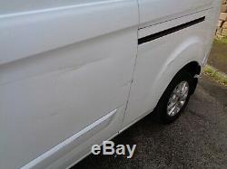 2018 18 Plate Ford Transit Custom Limited LWB Van Salvage Damaged