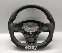 2018 Ford Transit Custom Mk8 Steering Wheel Flat Bottom New Leather Blue Stitch