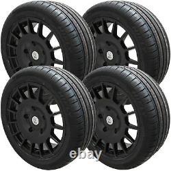 8x18 Black Alloy Wheels XL Tyres Fits All Ford Transit Custom MK6 MK7 MK8 Sport