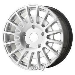 8x18 JBW TMS HYPER SILVER ALLOY WHEELS+TYRES FITS FORD TRANSIT CUSTOM SET OF 4