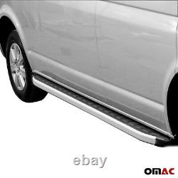 Alu Trittbretter für Ford Transit Custom 2012-2021 Seitenschweller Seitenbretter