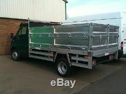 Aluminium Tipper Bodies Ally Custom Bespoke Body Ford Transit Iveco Nissan Etc