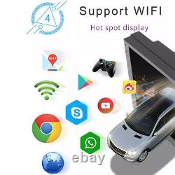 Android 8.1 2DIN 7inch Car Stereo GPS Navigation WiFi USB Radio Receiver Mirror